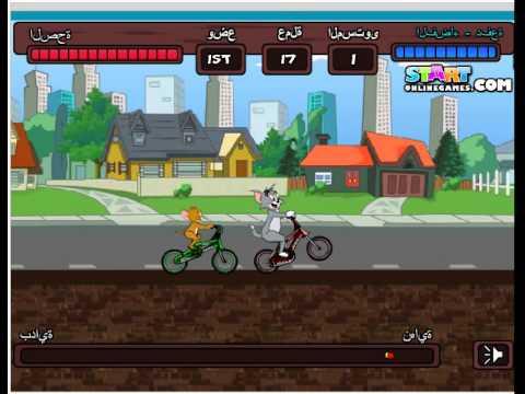 Game tom va jerry đua xe đạp - trổ tài đua xe đạp với Tom và Jerry