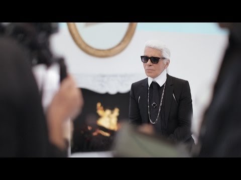 Karl Lagerfeld's Interview - Fall-Winter 2014/15 Haute Couture CHANEL show