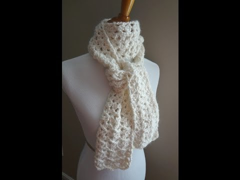 Youtube Crocheting A Scarf : Episode 8: How to Crochet the Vanilla Bean Scarf - YouTube