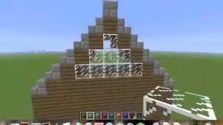Costruire un tetto minecraft