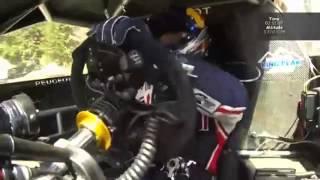 Sebastien Loeb en Pikes Peak 2013. C�mara On Board del Peugeot 208 T16