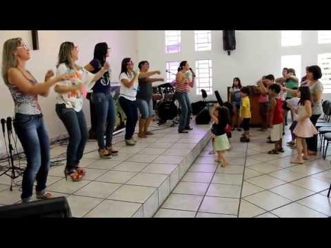 Dança do Canguru - Aline Barros e Cia - Crianças IPSW