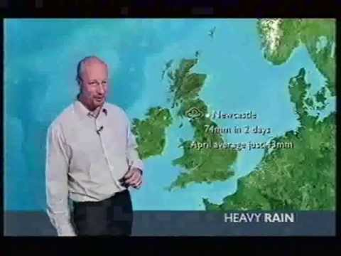 BBC Weather 17th April 2005