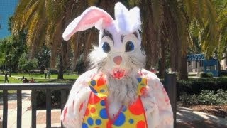 The bloody Easter Bunny is coming for you