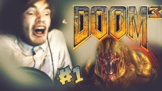 Doom 3 Part 1 Lets Play Doom 3 Walkthrough Playthrough