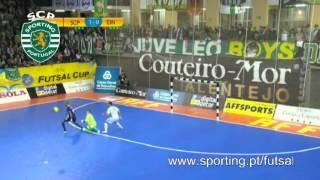 Futsal :: UEFA Cup: Sporting CP - 6 x CF Eindhoven - 1 de 2013/2014