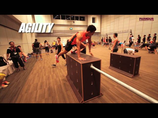 Parkour at Asia Fitness Convention 2013 | Parkour Generations Asia