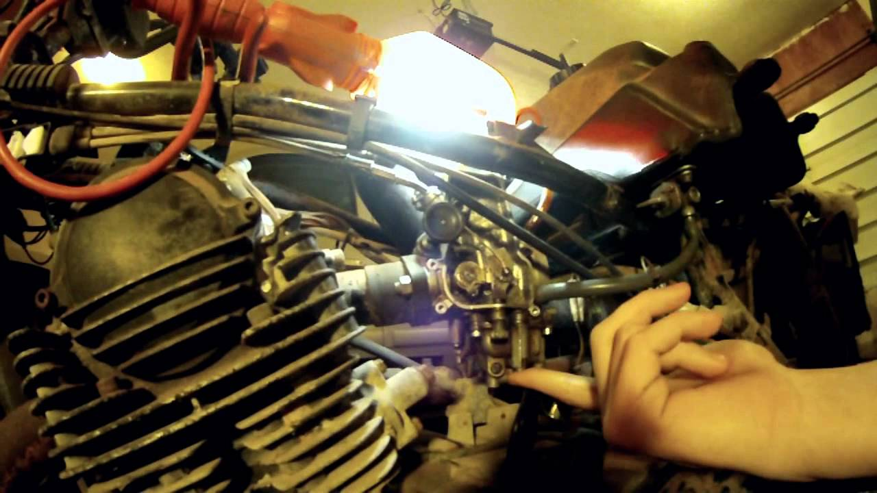 Yamaha Grizzly  Problem Cutting Out