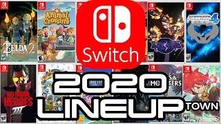 Nintendo Switch Legendary 2020 Lineup!