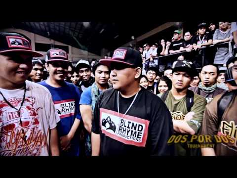 FlipTop - Spade/Redd Blot vs Crazymix/Bassilyo @ Dos Por Dos Tournament
