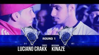 KOTD &#8211; Ground Zero Grand Prix R1 &#8211; Luciano Crakk vs Kinaze