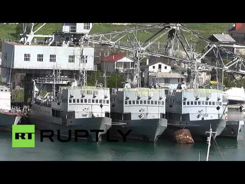 Russia: Ukrainian warships remain in Crimea, despite Turchynov's statement