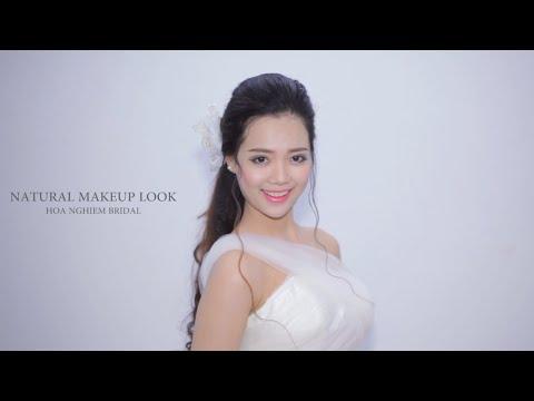 Các kiểu phong cách trang điểm cô dâu ngày cưới - Hoa Nghiêm Bridal