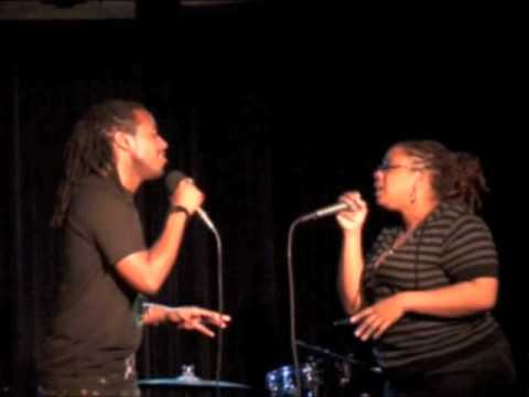 Ordinary People duet - Marcus Paul James and Crystal Monee Hall