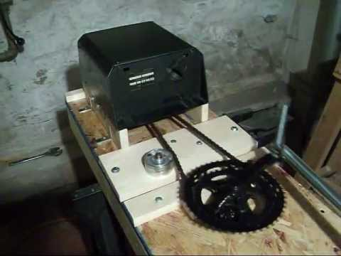 Electric Can Crusher Built From Scrap Youtube
