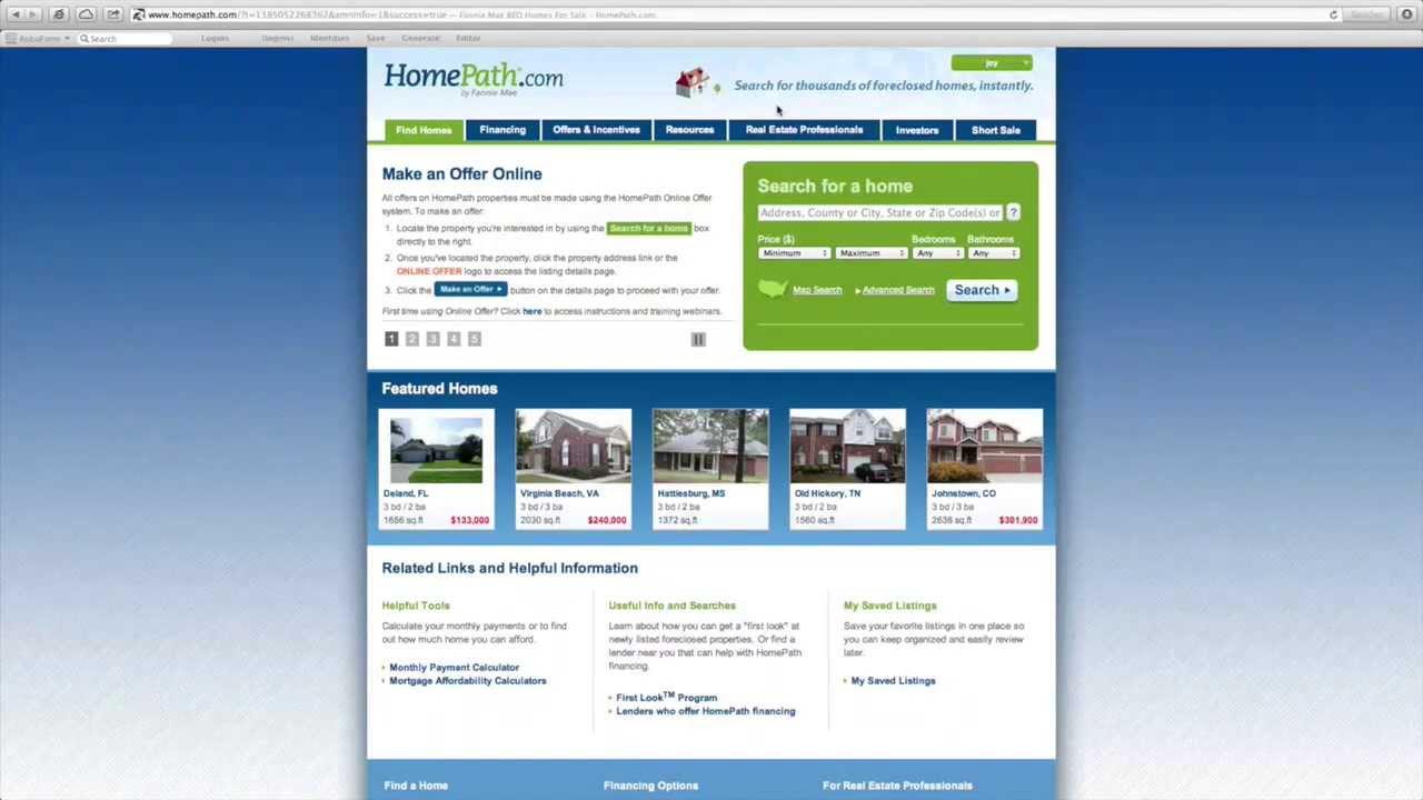 Fannie Mae Homepath Property Florida