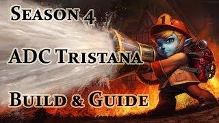 League Of Legends ADC Tristana Build / Guide Season 4