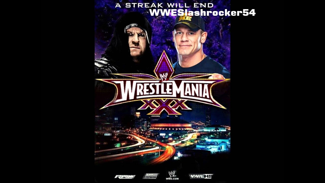 WWE Wrestlemania 30 Remake Poster FT. John Cena and The ...
