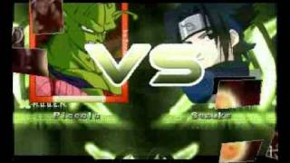 Dragon Ball Z VS Naruto (MUGEN)