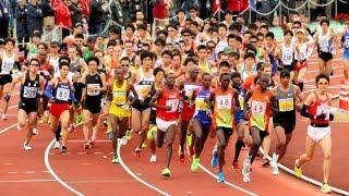 ケニアのギタウが優勝、堀端2位 福岡国際マラソン