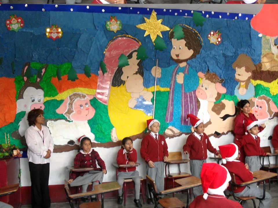 Ambientacion De Aula Para Navidad