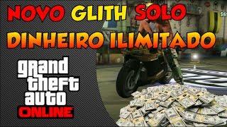 GTA V ONLINE 1.14 NOVO GLITCH SOLO DE DINHEIRO INFINITO