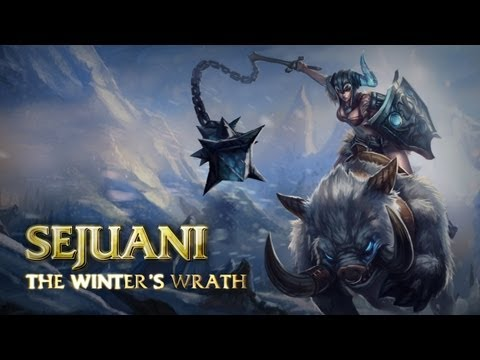 Champion Spotlight &#8211; Sejuani, the Winter&#8217;s Wrath