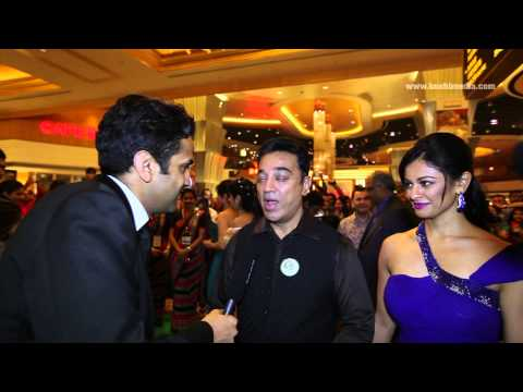 Kamal Haasan - Exclusive Interview with Kushi Media at the IIFA Rocks 2013