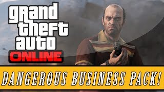 "GTA 5: ONLINE NEW ""Dangerous Business Pack"" DLC Stock"