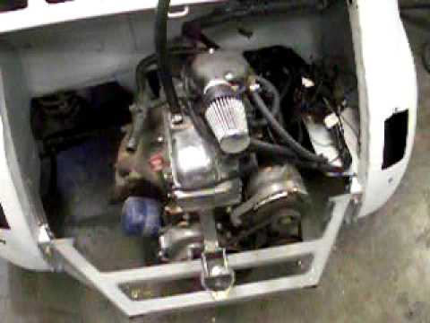 Fiat 500 With 900ccm Fiat Panda Engine Engine Running