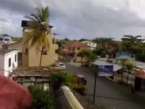 My room in Coco Hotel in Sosua, Dominican Republic, January 2014
