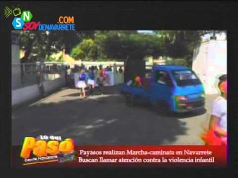 MARCHA-CAMINATA EN NAVARRETE CONTRA LA VIOLENCIA INFANTIL.