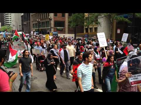 Protest For Palestine: Thousands rally up in Chicago to protest against Israel
