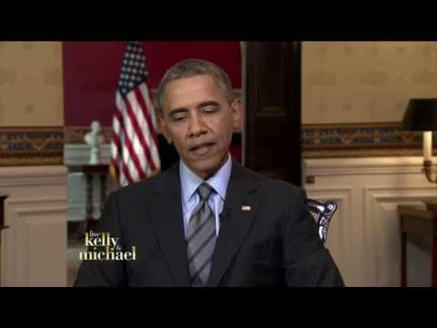 President Obama talks about Hillary Clinton on LIVE with Kelly and Michael