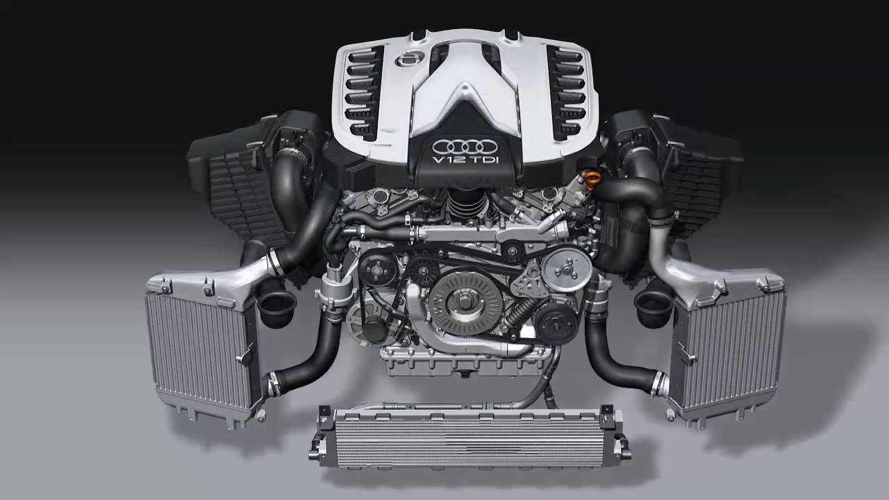Veyron W16 Engine Diagram Bugatti Animation 3d Model Download