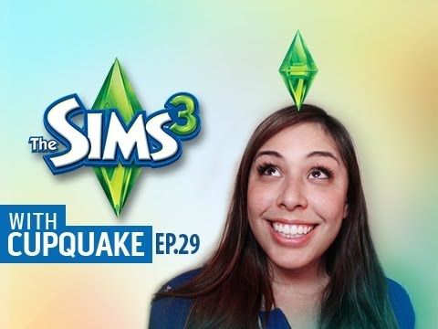 """OLD SENILE COUPLE"" Sims 3 Ep.29 W/ Cupquake"