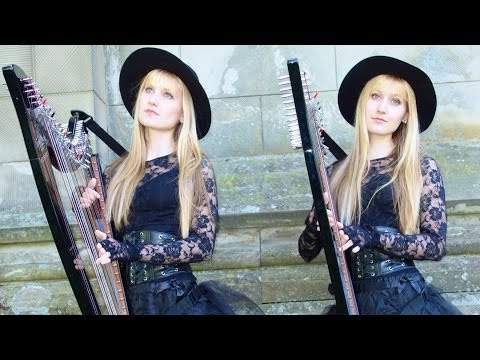 Pachelbel's Canon in D (Harp Twins electric) Camille and Kennerly