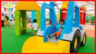 Legoland Playground for kids and Fun Amusement Rides!!!!