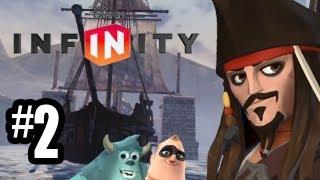 Disney Infinity Gameplay Walkthrough Part 2 CANNON