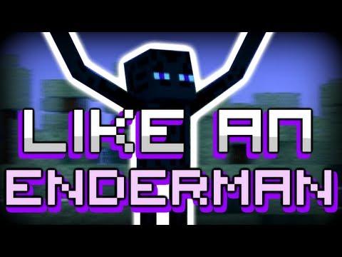 "♪ ""Like An Enderman"" - Gangnam Style Minecraft Parody (Parody Of - PSY GANGNAM STYLE)"