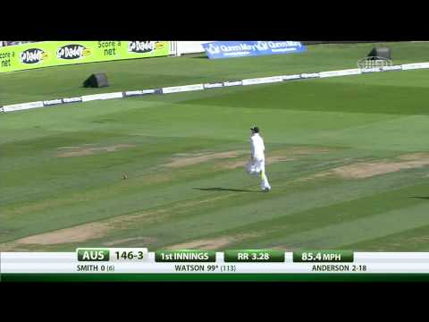 Shane Watson 100 | Ashes 2013 | 5th Test