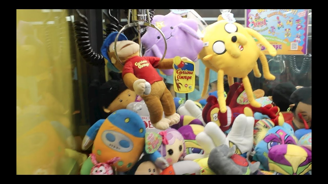 claw machine win