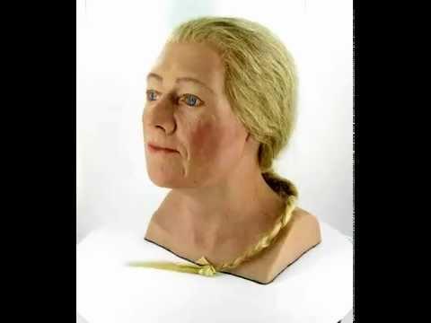 Gezichtsreconstructie middeleeuwse vrouw (360 graden)