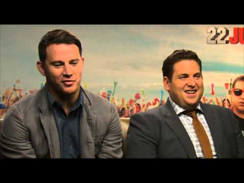Channing Tatum & Jonah Hill   22 Jump Street Interview