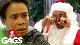 Santa nemá rád deti - skrytá kamera