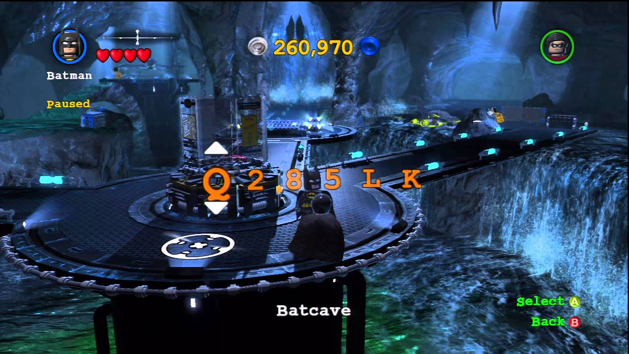 Lego Batman 2 Character Cheats