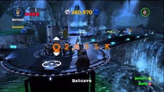 LEGO Batman 2: DC Super Heroes How To Enter Cheat Codes