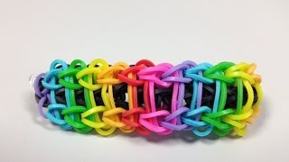 Bandaloom: How To Make A Ladder Bracelet.