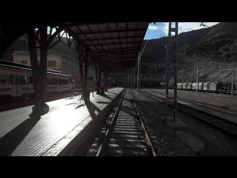 Rail View - 2012 - Tren de Portbou hasta Barcelona - 2012