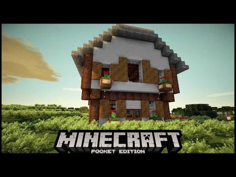 How To Spawn a Houses in Minecraft pe 0.15.6 | MCPE ( pocket edition)